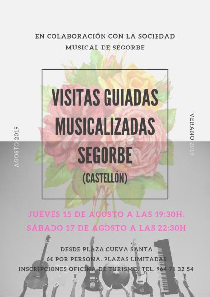 Visitas guiadas musicalizadas en Segorbe