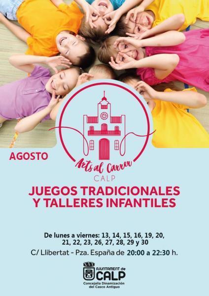 JUEGOS TRADICIONALES Y TALLERES INFANTILES
