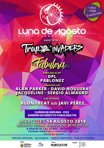 Luna de Agosto (Music Summer Festival) en Pilar de la Horadada 2019
