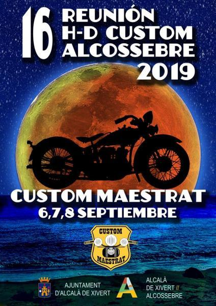 16 Reunión H-D Custom Alcossebre 2019