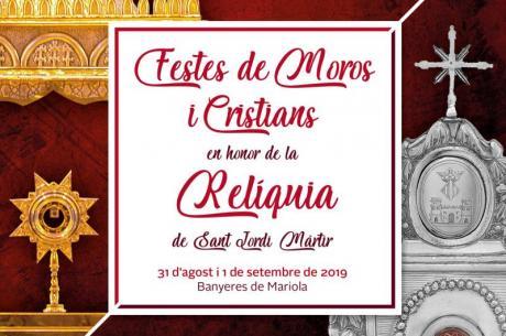 Festes de Moros i Cristians en honor de la Relíquia de Sant Jordi. Banyeres de Mariola (Alacant)