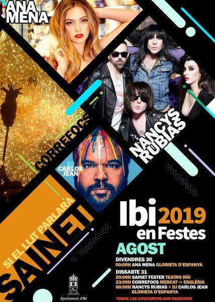 Conciertos Fiestas 2019