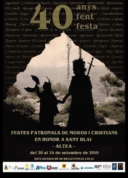 FIESTAS PATRONALES EN HONOR AL CRISTO DEL SAGRARIO Y FIESTAS DE MOROS Y CRISTIANOS EN HORONO A SANT BLAI
