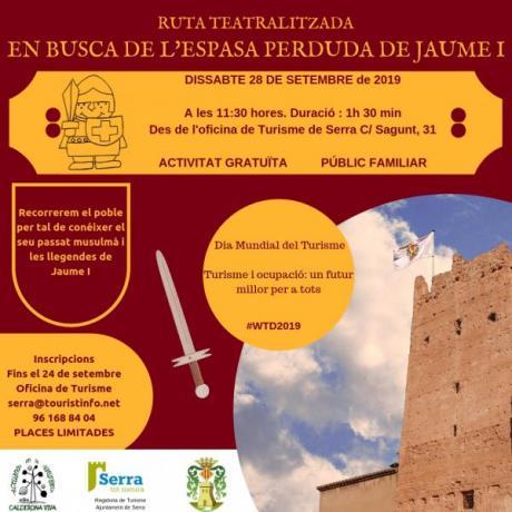 Dia Mundial del Turismo - Ruta teatralizada gratuita: En busca de la espada perdida de Jaume I