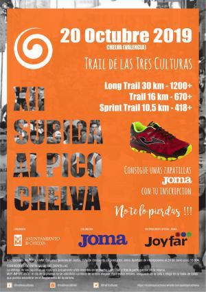 TRAIL DE LAS TRES CULTURAS - Chelva 2019