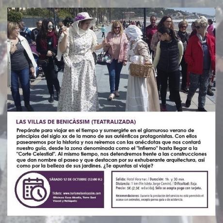 Visita teatralizada: Las Villas de Benicàssim
