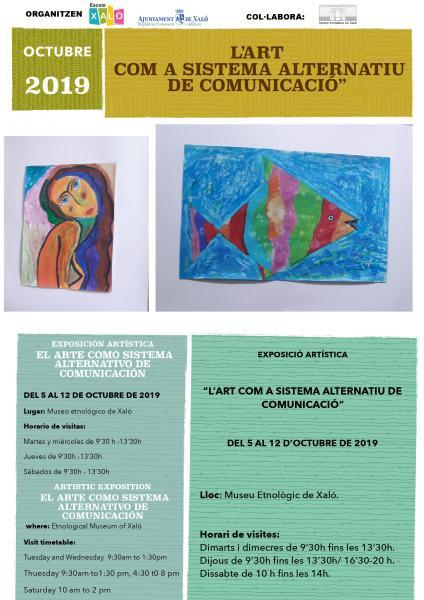 Art as an alternative communication system