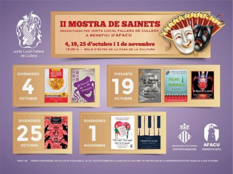 II MUESTRA DE SAINETES CULLERA
