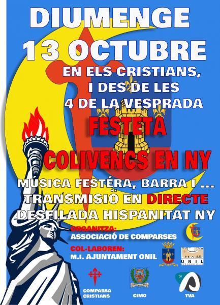 FESTETA COLIVENCS EN NUEVA YORK