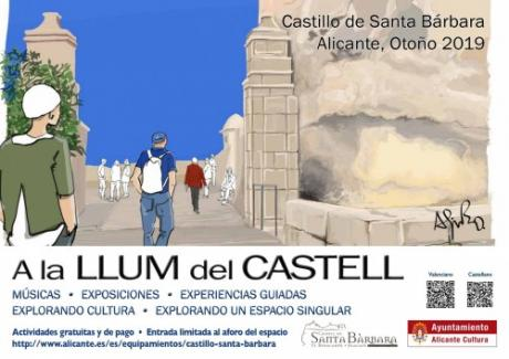 A la llum del Castell otoño 2019