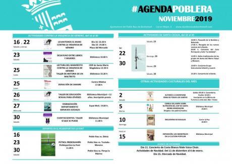 Agenda Noviembre 2019