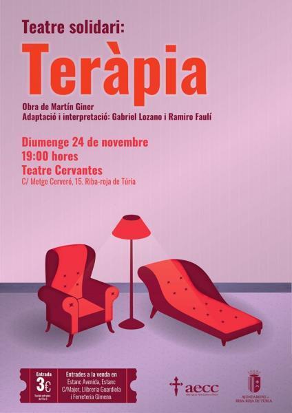 """Teatro solidario """"Terapia"""""""
