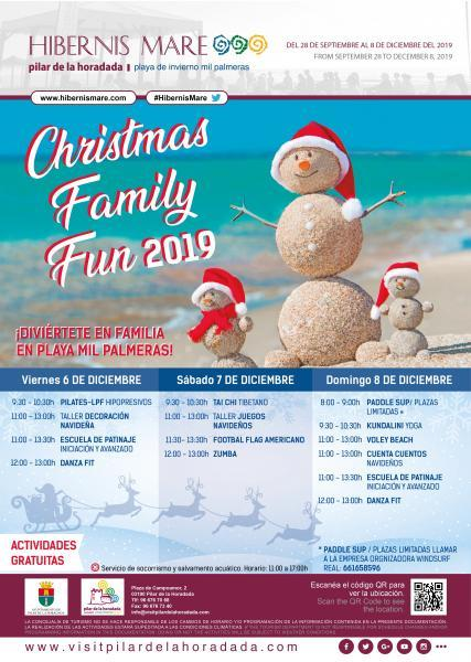 Christmas Family Fun- Hibernis Mare, tu playa de invierno 2019
