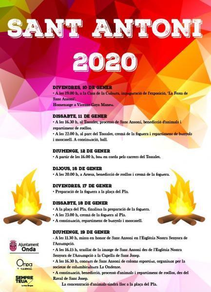 SANT ANTONI ONDA 2020
