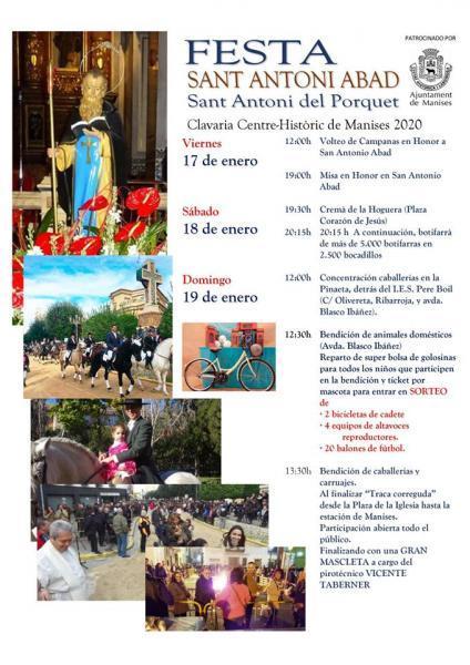Fiesta de San Antoni Abad 2020