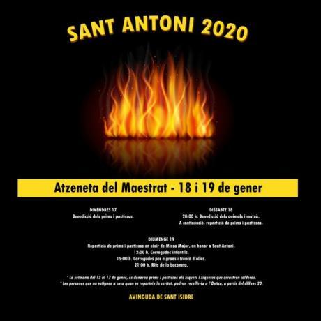SANT ANTONI 2020