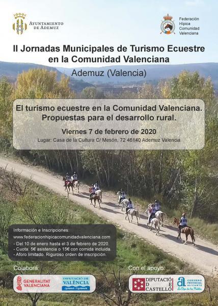 II Jornadas Municipales de Turismo Ecuestre en la Comunidad Valenciana