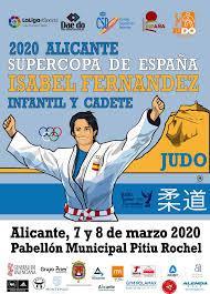 Supercopa España de Judo Isabel Fernandez Alicante 2020