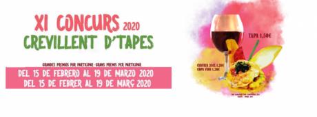 XI CONCURSO TAPAS CREVILLENT 2020