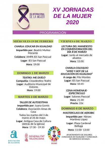 XIV JORNADAS DE LA MUJER 2019