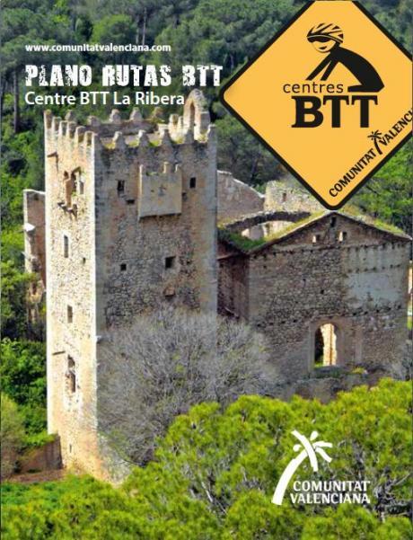 Portada folleto BTT la Ribera
