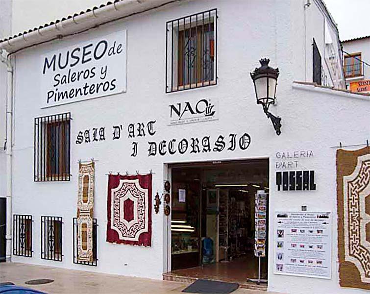 Museo de Saleros y Pimenteros  El Castell de Guadalest