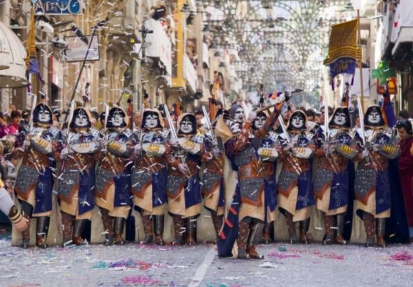 Moors and Christians in Alcoy, the show begins - Comunitat Valenciana