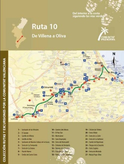 Ruta 10: De Villena a Oliva