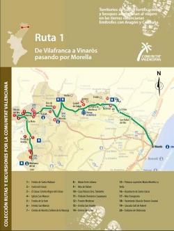 Ruta 1: De Villafranca a Vinaròs por Morella