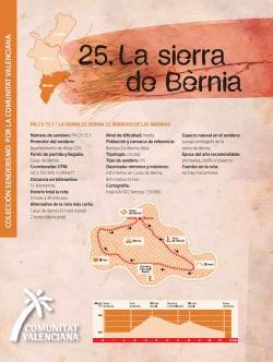 Ruta 25: La sierra de Bèrnia