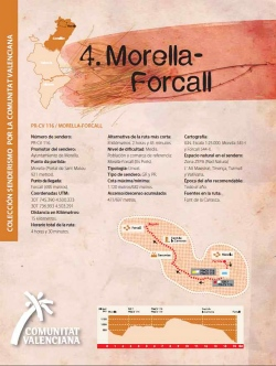 Ruta 4: Morella-Forcall
