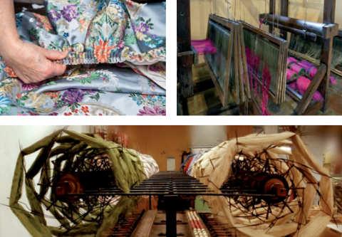 Imágenes de fabrica de la seda y museo de la seda de Moncada