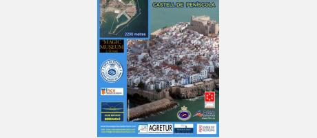 Natación al Castillo de Peñíscola