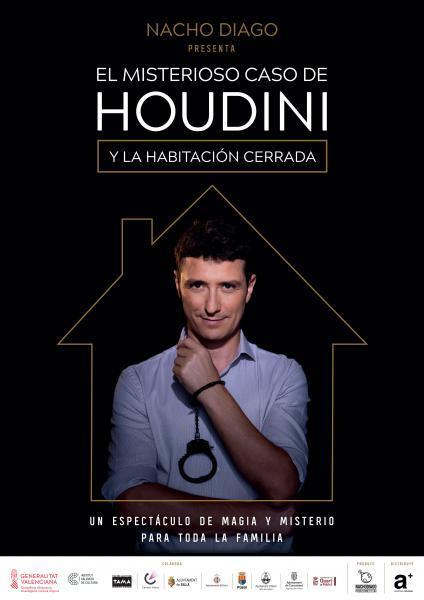 """Magia: Nacho Diago """"El misterioso caso de Houdini y la habitación cerrada"""""""