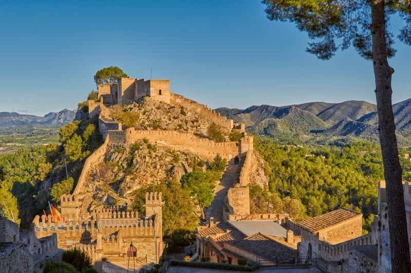 Panorámica del Castell de Xátiva
