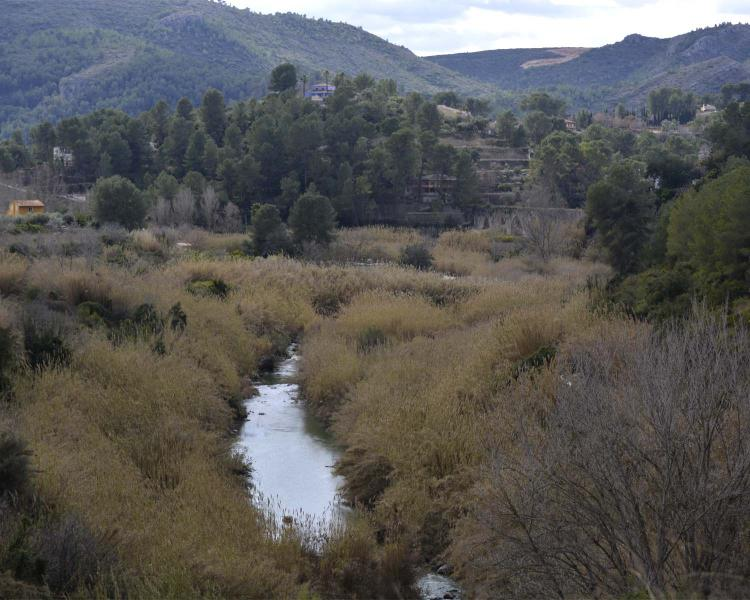 Ruta del río Albaida en Xàtiva