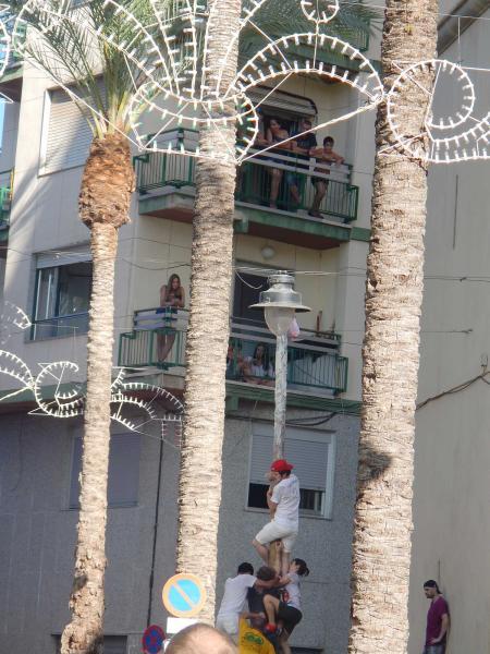 Agua desde los balcones