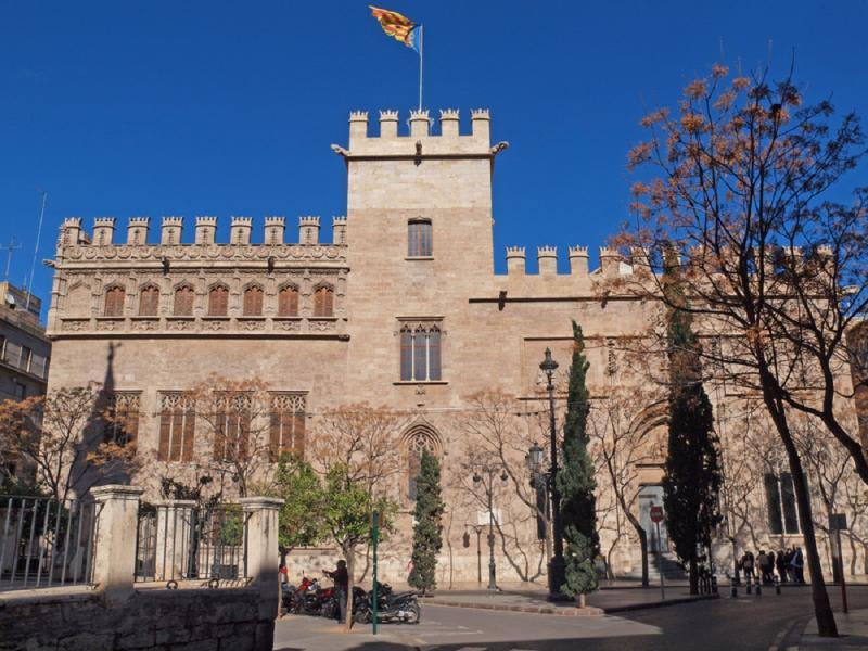Vista desde el Castillo de Peñíscola