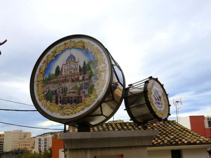 Tambores de cerámica
