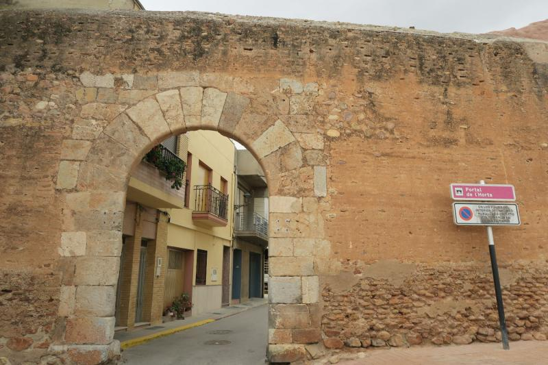 Mascarell;ciudad amurallada