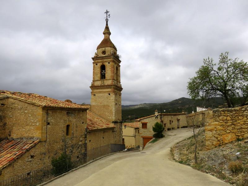 Carrer de Castell de Cabres en Castellón