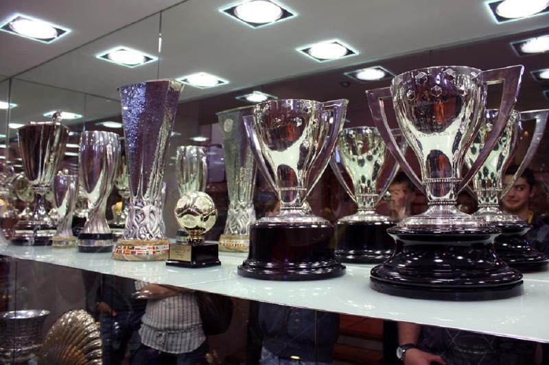Sala de trofeos Mestalla