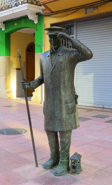 Estatua del Faixero