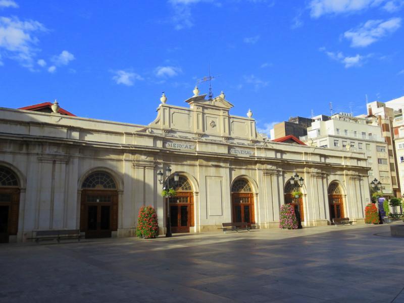 Mercadillo en Castellón
