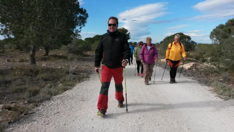 Marcha nórdica en la Comunitat Valenciana
