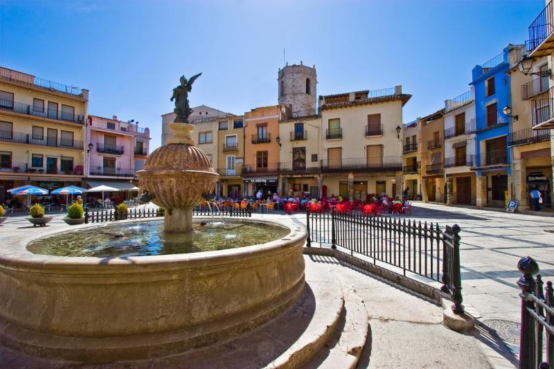 Plaza Mayor de Sant Mateu