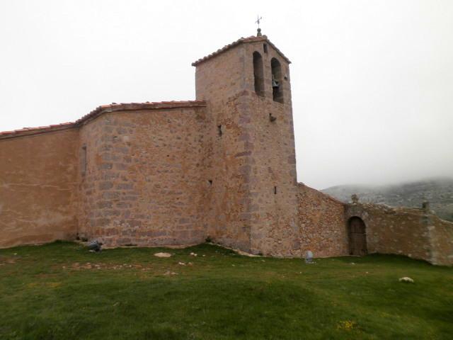 Vista de Peñíscola en invierno