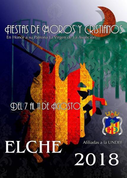 Cartel de las fiestas de Elche