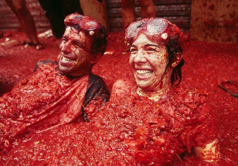 Batalla de tomates