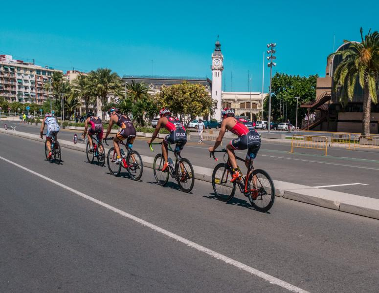 Triatlón por València